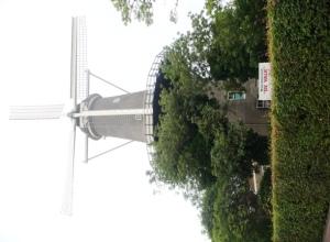 Wind Mollen (kincir angin) Tua di Pusat Kota
