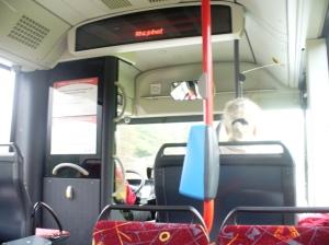 Suasana Dalam Bis