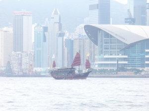 Kapal Antik di Perairan Hong Kong