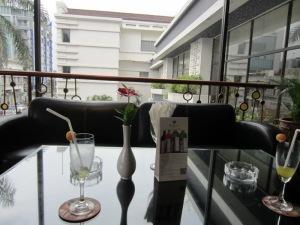 Pemandangan dari Lounge Hotel