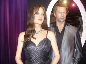 Patung Lilin Angelina Jolie dan Brad Pitt