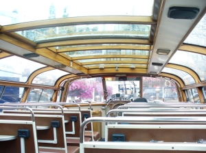 Interior Boat Canal Cruise