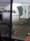 Pesawat yang akan membawa kami ke tanah suci