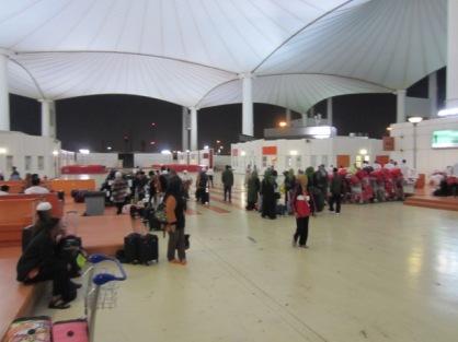 Suasana di halaman Bandara Jeddah