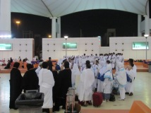 Jemaah travel lain bersiap ke Makkah