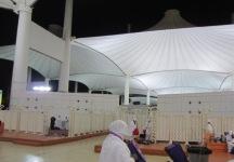 Musholla Bandara Jeddah yang sederhana